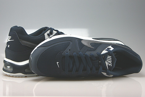 Nike Air Max Command Obsidian Dark Grey Pure Platinum Over view