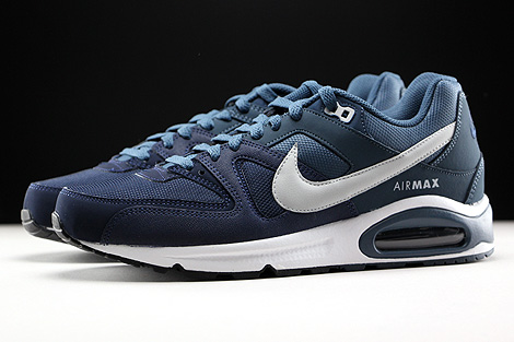 Nike Air Max Command Obsidian Pure Platinum Squadron Blue White Profile