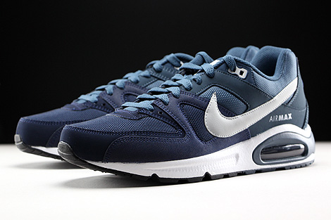 Nike Air Max Command Obsidian Pure Platinum Squadron Blue White Sidedetails