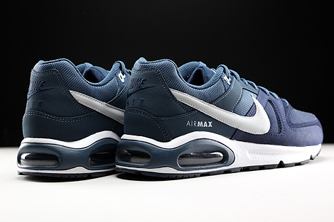 380e1501f5d396 Nike Air Max Command Obsidian Pure Platinum Squadron Blue White Back view .  ...
