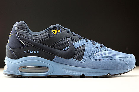 Nike Air Max Command Dunkelblau Stahlblau Orange