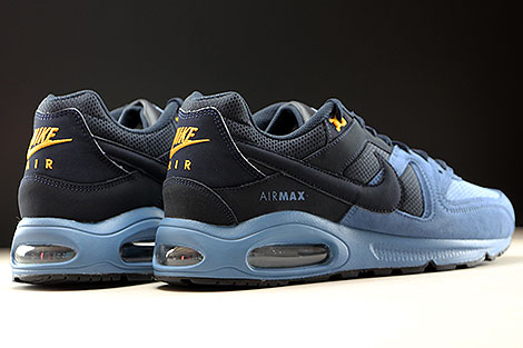 Nike Air Max Command Ocean Fog Dark Obsidian Back view