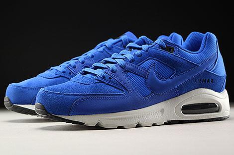 Nike Air Max Command Premium Blau Weiss Seitendetail