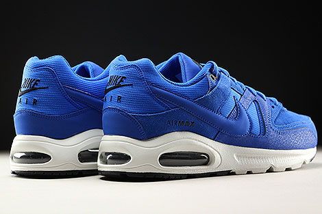 Nike Air Max Command Premium Hyper Cobalt Back view
