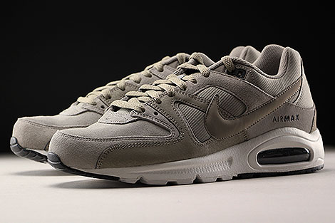Nike Air Max Command Premium Light Taupe Black Sidedetails