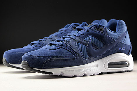 Nike Air Max Command Premium Midnight Navy Sidedetails