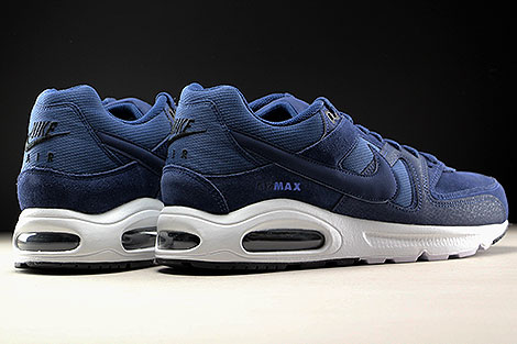 Nike Air Max Command Premium Midnight Navy Back view