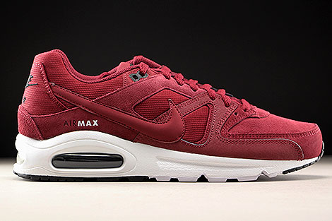 Nike Air Max Command Premium dark Red sehr gebraucht