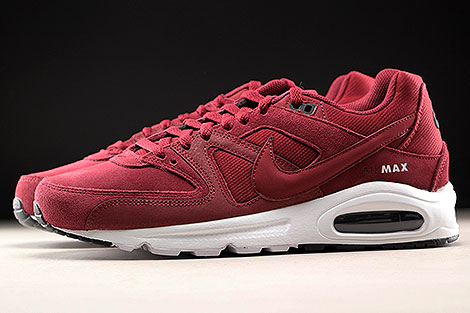 Nike Air Max Command Premium Team Red Black White Profile
