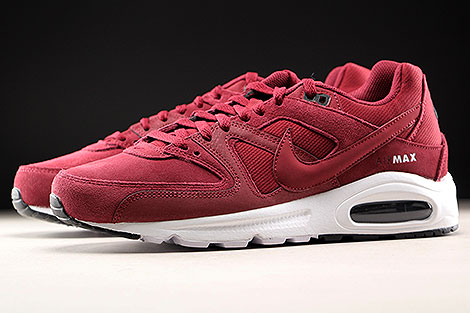Nike Air Max Command Premium Team Red Black White Sidedetails