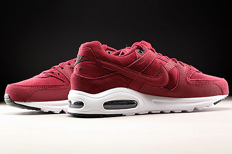 Nike Air Max Command Premium Team Red Black White Inside