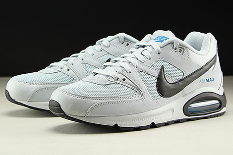Nike Air Max Command Pure Platinum Black Sidedetails