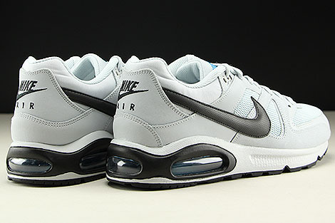 Nike Air Max Command Pure Platinum Black Back view