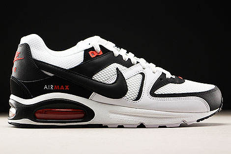 Nike Air Max Command White Black Max Orange