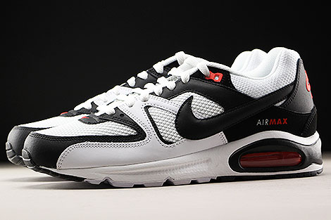 lowest price ce83f 88ed2 ... Nike Air Max Command White Black Max Orange Profile ...