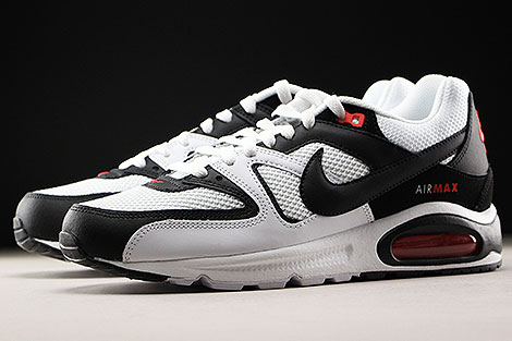 Nike Air Max Command White Black Max Orange Sidedetails