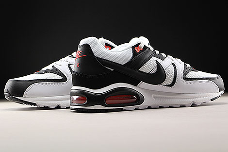 Nike Air Max Command White Black Max Orange Inside