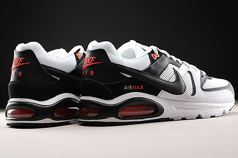 the best attitude 2e75a bf443 ... Nike Air Max Command White Black Max Orange Back view ...