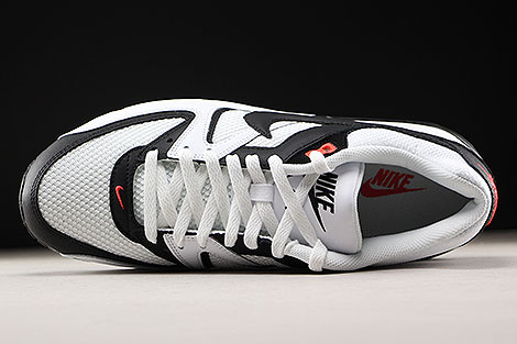 Nike Air Max Command White Black Max Orange Over view