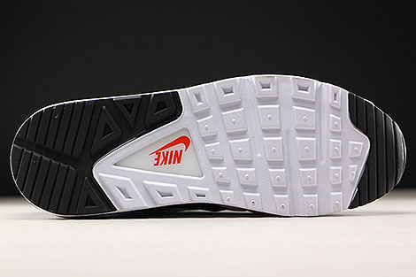 Nike Air Max Command White Black Max Orange Outsole