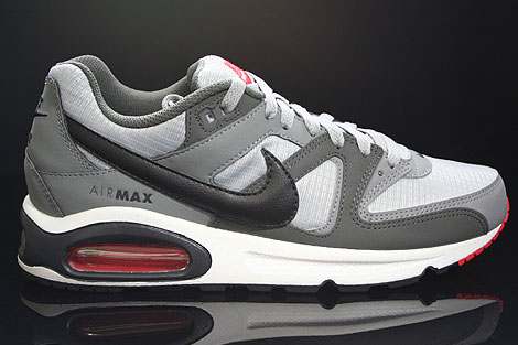 Nike Air Max Command Wolf Grey Black Cool Grey Red 397689