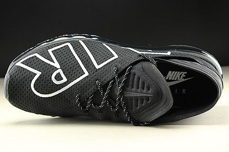 Nike Air Max Flair Black White Over view