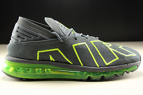 ... Nike Air Max Flair Dark Grey Volt Dark Grey Right ...