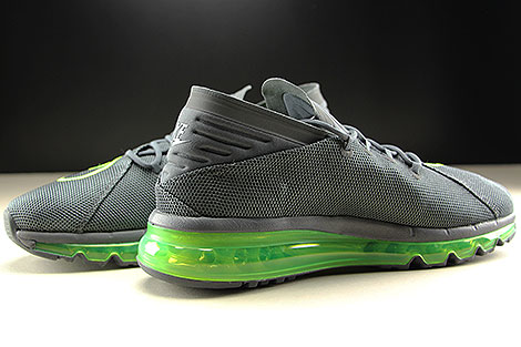 Nike Air Max Flair Dark Grey Volt Dark Grey Inside