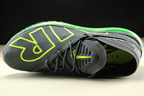 Nike Air Max Flair Dark Grey Volt Dark Grey Over view