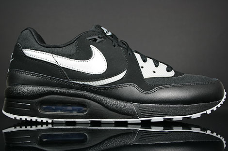 Nike Air Max Light Black Metallic Silver Varsity Red