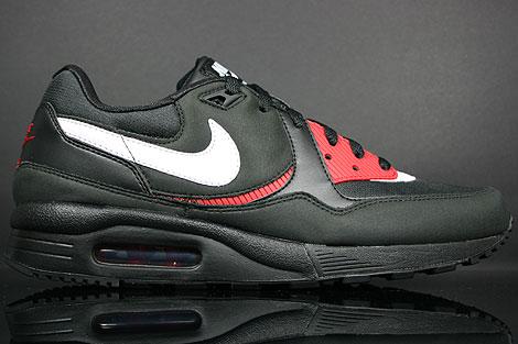 Nike Air Max Light Black White Varsity Red Crimson