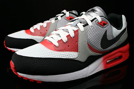 Nike Air Max Light C1.0 Cool Grey Black Light Crimson University Red Sidedetails