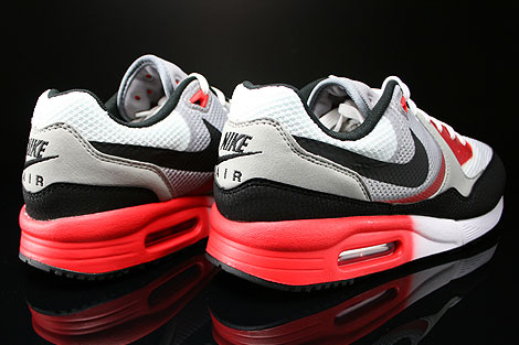 Nike Air Max Light C1.0 Cool Grey Black Light Crimson University Red Back view