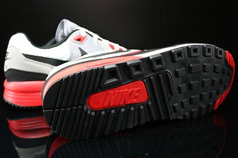 Nike Air Max Light C1.0 Grau Schwarz Weiss Rot Laufsohle