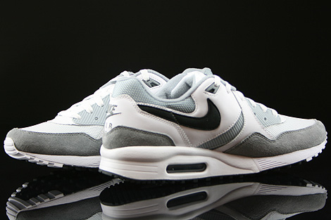 Nike Air Max Light Essential White Black Light Magnet Grey Inside
