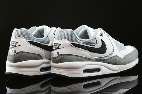 Nike Air Max Light Essential White Black Light Magnet Grey Back view