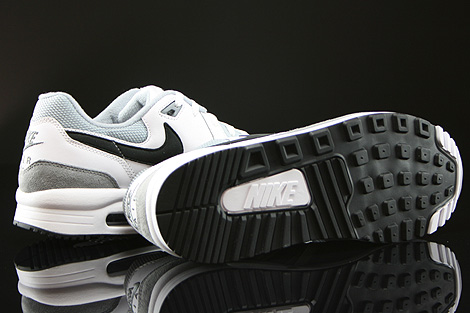 Nike Air Max Light Essential White Black Light Magnet Grey Outsole