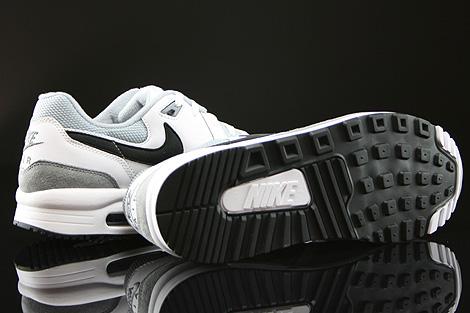 Nike Air Max Light Essential Weiss Schwarz Grau Laufsohle