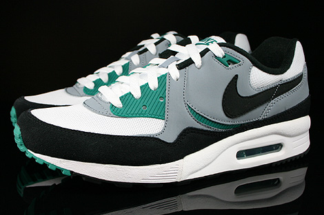 Nike Air Max Light Essential White Black Mystic Green Magnet Grey Profile