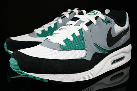 Nike Air Max Light Essential White Black Mystic Green Magnet Grey Sidedetails