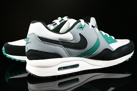 Nike Air Max Light Essential White Black Mystic Green Magnet Grey Inside