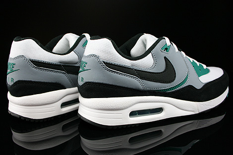 Nike Air Max Light Essential White Black Mystic Green Magnet Grey Back view