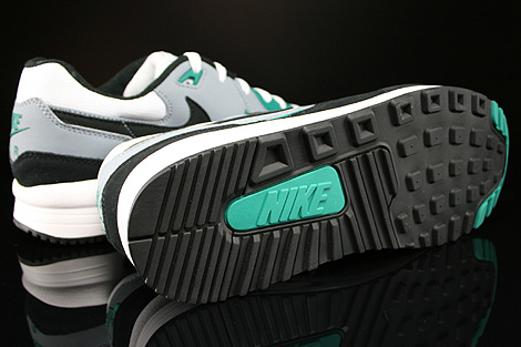 Nike Air Max Light Essential White Black Mystic Green Magnet Grey Outsole