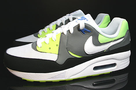 Nike Air Max Light GS White Black Nano Grey Profile