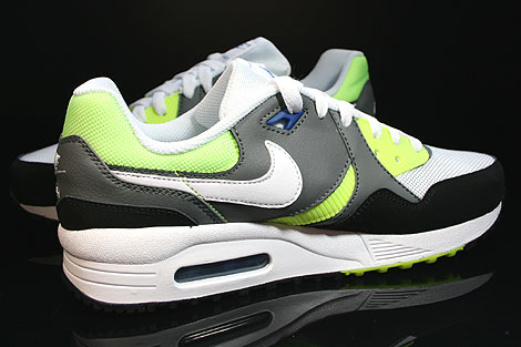 Nike Air Max Light GS White Black Nano Grey Inside