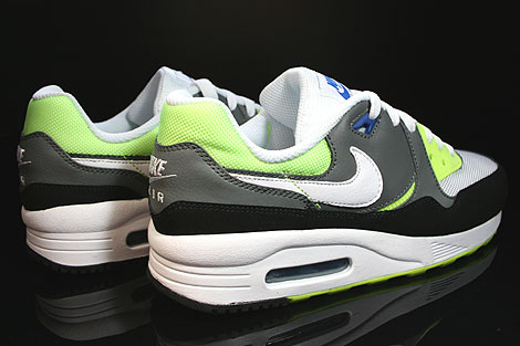 Nike Air Max Light GS White Black Nano Grey Back view