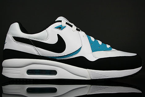Nike Air Max Light White Black Glass Blue