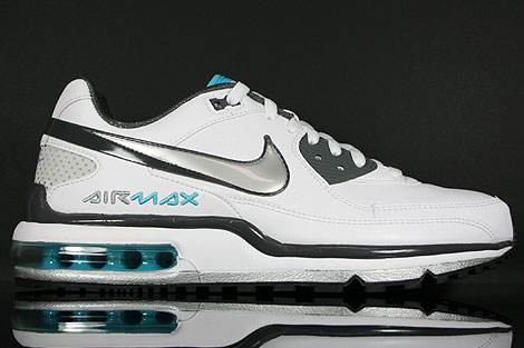 Nike Air Max LTD 2 White Silver Dark Grey Chlorine
