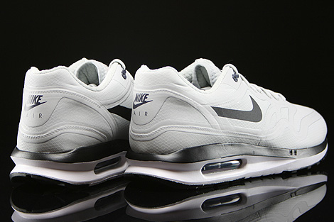 hot sale online c5b73 c9baf ... Nike Air Max Lunar1 WR Pure Platinum Black Dark Raisin Back view ...