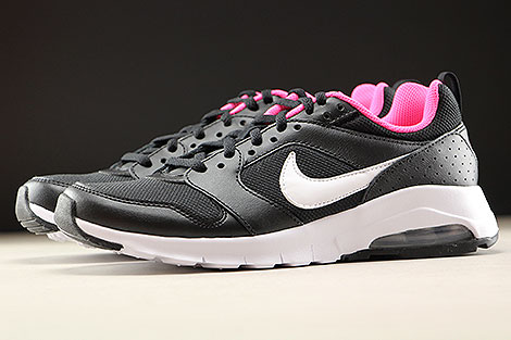 Nike Air Max Motion GS Black White Hyper Pink Profile